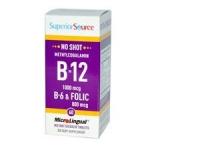 B-12 1000 mcg, B-6 & Folsäure 800 mcg, 60 Tabletten