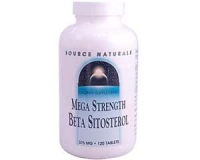 Beta Sitosterol, Source Naturals, 375 mg, 120 Tabletten