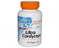 Doctor\s Best, Ultra Cordyceps, Raupenpilz, 60 Veggie Caps