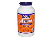 L-Lysin 500 mg pharmazeutische Reinheit - 250 Kapseln
