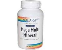 Mega Multi Mineral, Kein Eisenzusatz 200 Kapseln !