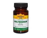 Molybdenum (chelat), 150 mcg, 100 Tablets