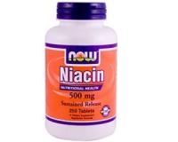 Niacin 500 mg zeitverzögert -- 250 Tabletten