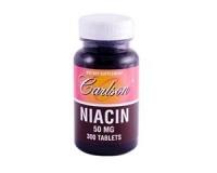 Niacin - 50mg -- 300 Tabletten
