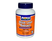 Olive Leaf Extract 500 mg Vegetarian - 120 Vcaps