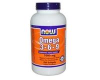 Omega 3-6-9 Hexanfrei Nahrungsöl - 250 Kapseln!