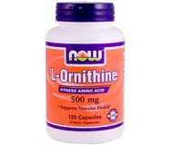 L-Ornithin 500 mg -120 Kapseln