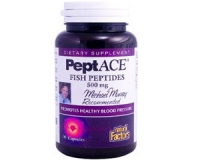 PeptACE, Fish Peptides, 500 mg, 90 Capsules