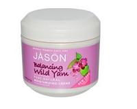 Jason Natural, Moisturizing Cream (Feuchtigkeitscreme), Balancing Wild Yam (113 g)